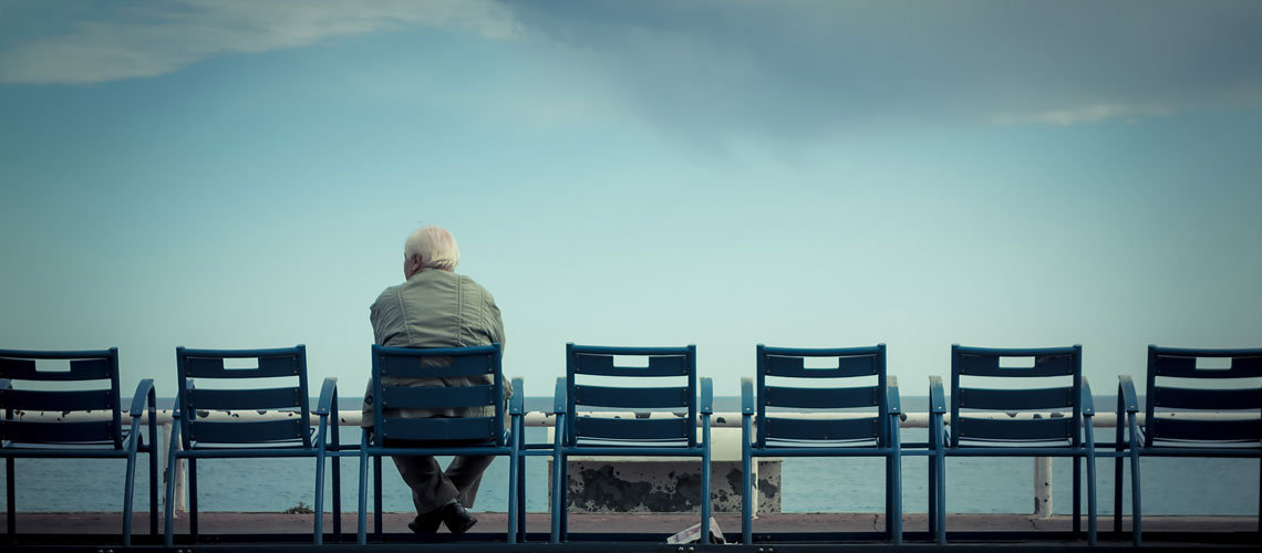Old age and loneliness